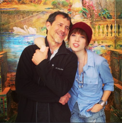 Carly Rae Jepsen et son beau-père