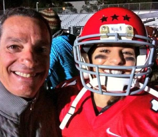 Lea Michele et son papa
