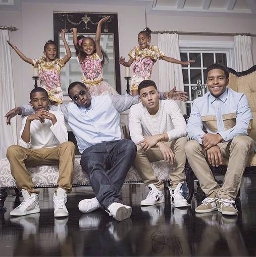 P. Diddy en famille