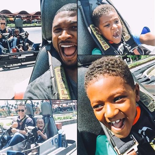 Usher et ses fils