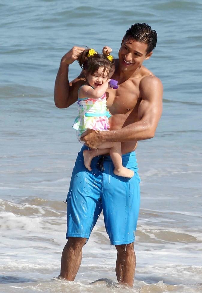 MArio Lopez et sa fille Gia !