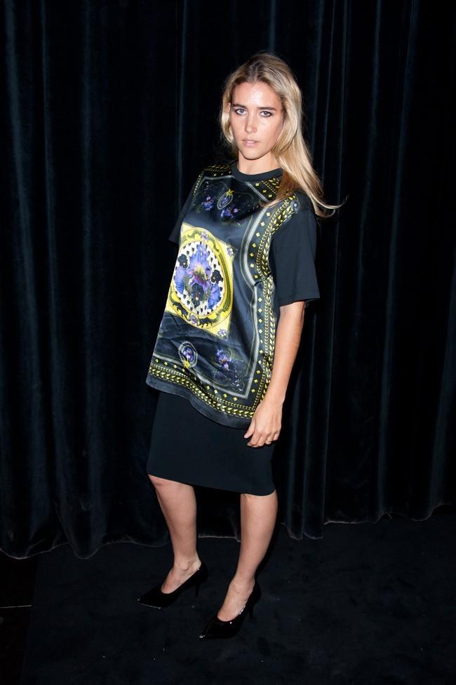 Vahina Giocante, joliment blonde, en 2011