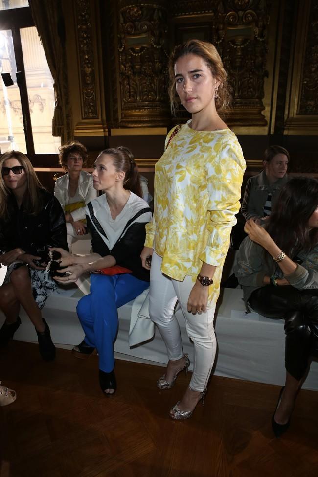 Vahina Giocante le 1er octobre 2012 à Paris