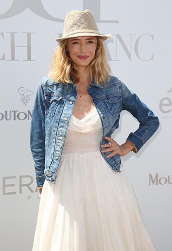 Hélène de Fougerolles à Paris le 29 juin 2014