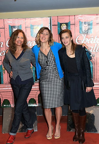Marie Rivière, Valeria Bruni Tedeschi et Céline Sallette à Paris le 29 octobre 2013