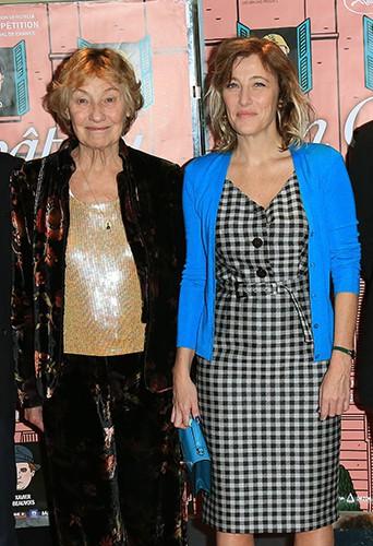 Marisa Borini et Valeria Bruni Tedeschi à Paris le 29 octobre 2013