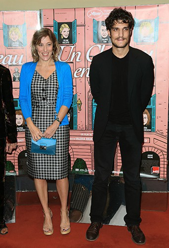 Valeria Bruni Tedeschi et Louis Garrel à Paris le 29 octobre 2013