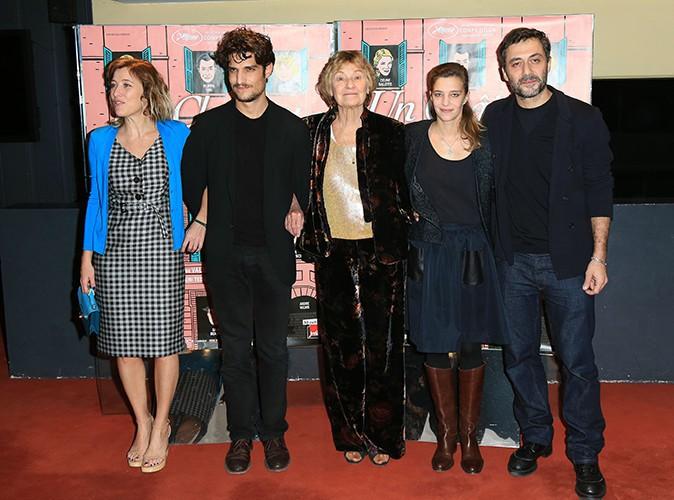 Valeria Bruni Tedeschi, Louis Garrel, Marisa Borini, Céline Sallette et Filippo Timi à Paris le 29 octobre 2013