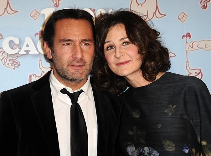 Gilles Lellouche et Valérie Lemercier à Paris le 9 décembre 2013