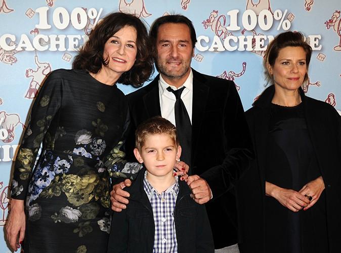 Gilles Lellouche, Valérie Lemercier, Marina Foïs et Samatin Pendev à Paris le 9 décembre 2013