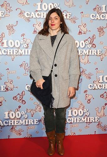 Valérie Donzelli à Paris le 9 décembre 2013