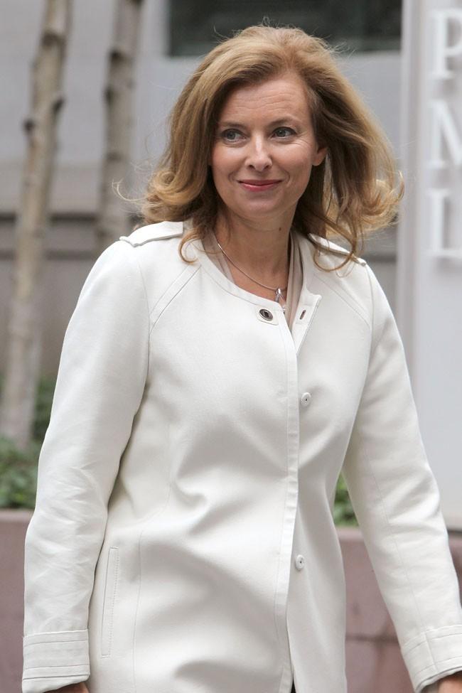 Valérie Trierweiler le 26 septembre 2012 à New York