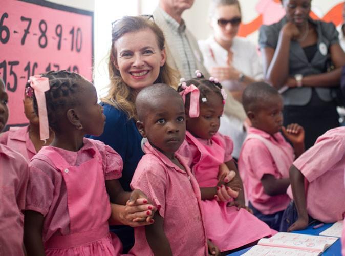 Valérie Trierweiler : elle s'affiche rayonnante et pleinement épanouie pour son voyage caritatif en Haïti !