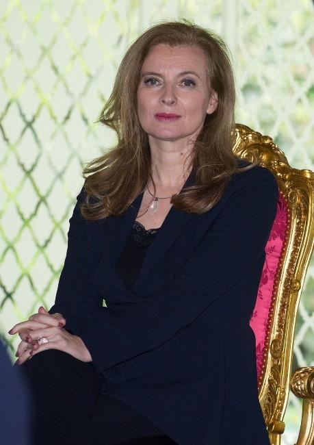 Valérie Trierweiler au Maroc
