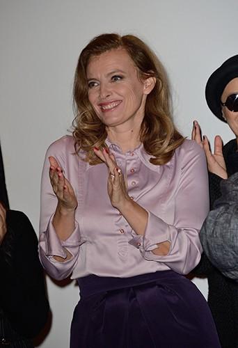 Valérie Trierweiler à Paris le 28 mars 2014