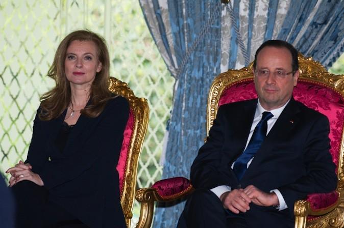Valérie Trierweiler faisait polémique en n'étant pas mariée à François Hollande !