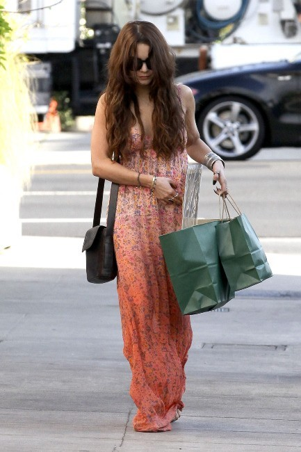 Vanessa Hudgens à Los Angeles, le 1er avril 2013.