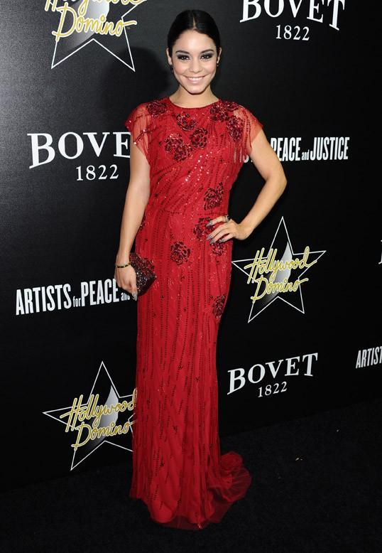 Vanessa Hudgens à une soirée pre-Oscars organisée à Hollywood le 27 février 2014