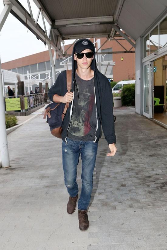 Austin Butler à Venise le 4 septembre 2012