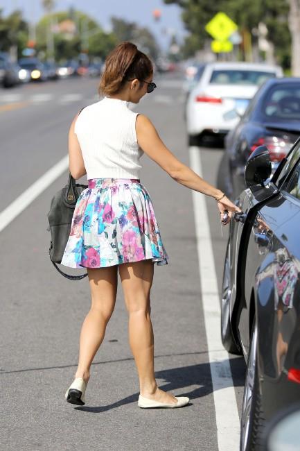 Vanessa Hudgens à Santa Monica, le 1er août 2013.