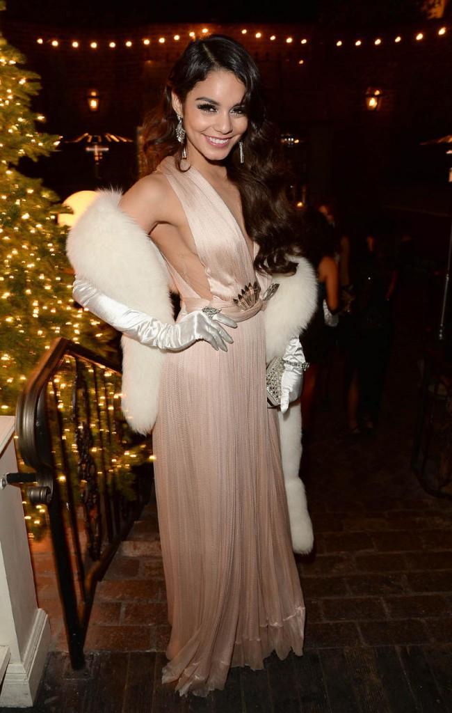 Vanessa Hudgens lors de sa fête d'anniversaire, le 14 décembre 2014 à Hollywood.