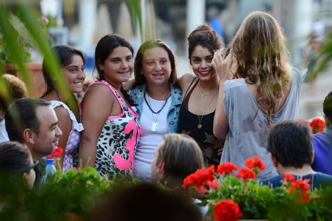 Vanessa Hudgens à Ischia le 18 juillet 2013