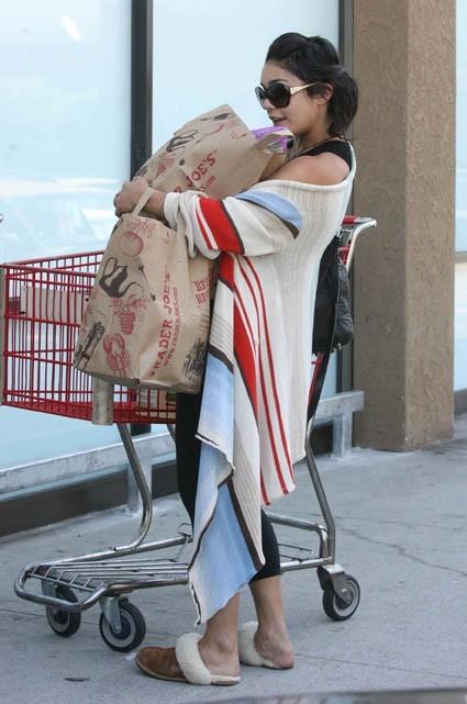 Elle a pris sa couverture pour se protéger du froid ?