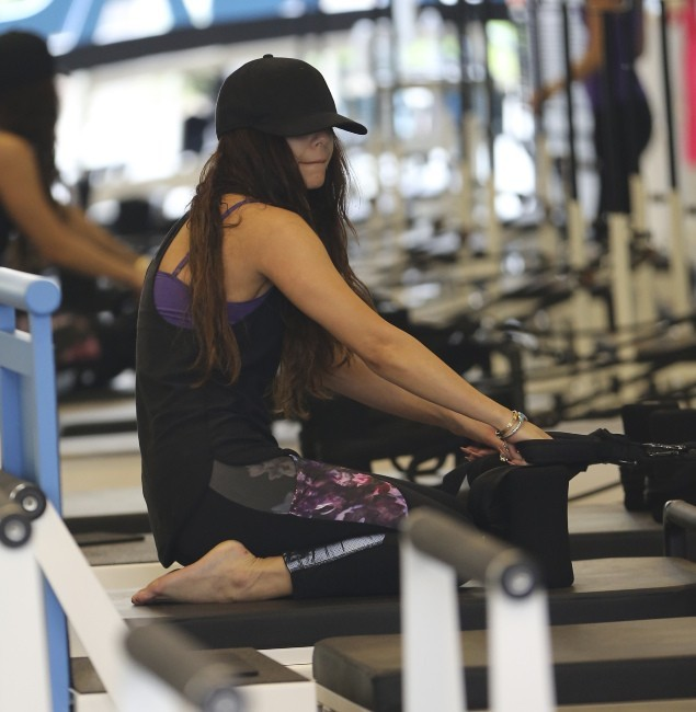 Vanessa Hudgens en plein exercice