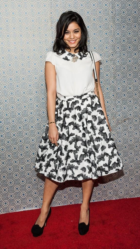 Vanessa Hudgens lors du défilé Alice + Olivia à New York, le 11 février 2013.