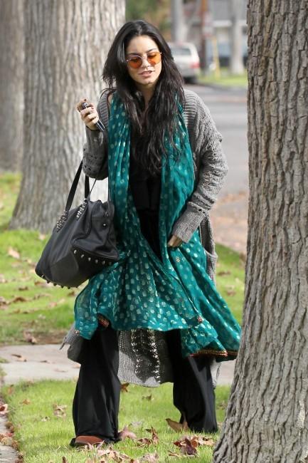 Vanessa Hudgens à Los Angeles, le 23 décembre 2012.