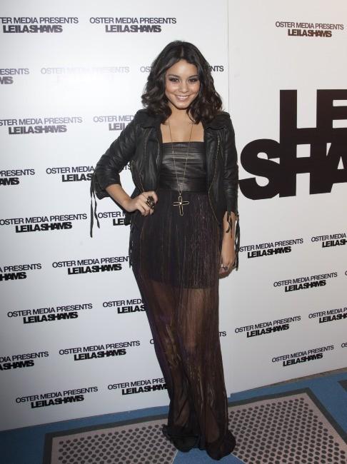 Vanessa Hudgens lors du défilé Leila Shams à New York, le 9 février 2012.