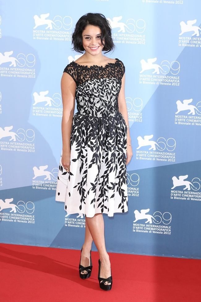 Vanessa Hudgens le 5 septembre 2012 à Venise