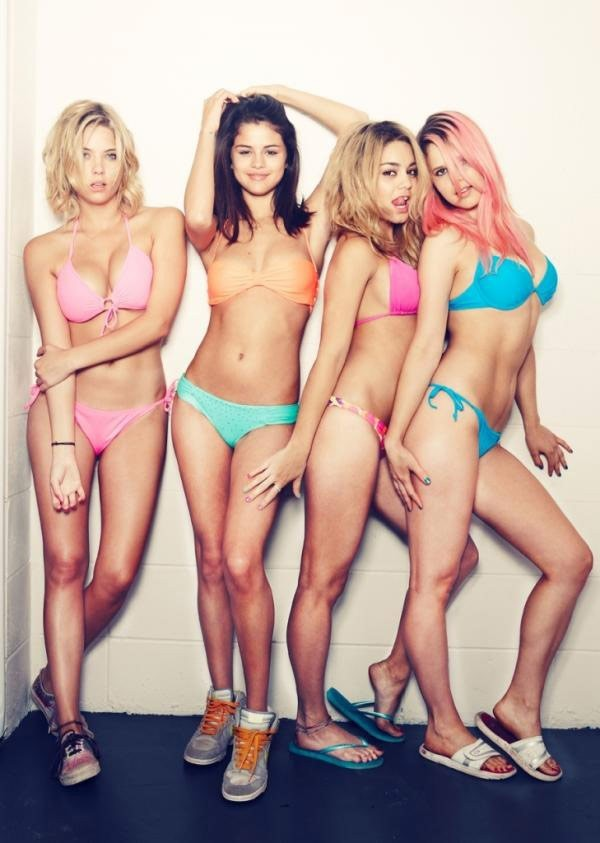 Les bad girls de Spring Breakers !