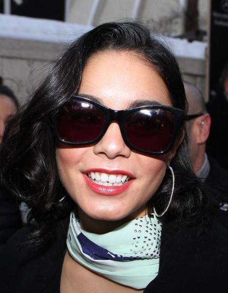 Vanessa Hudgens le 10 février 2013 à New York