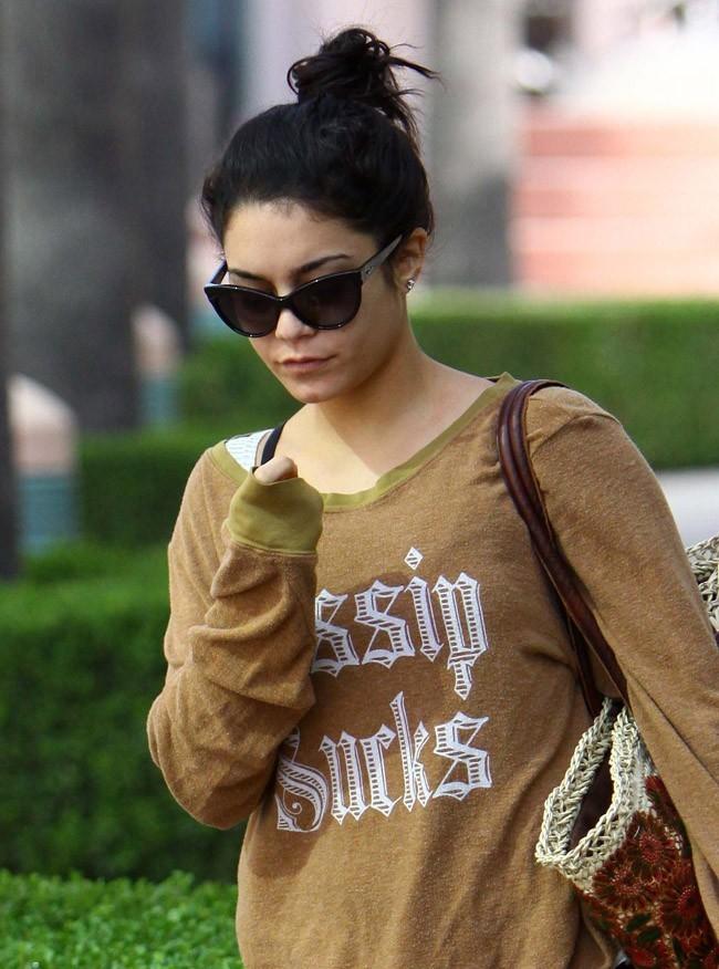 Vanessa Hudgens le 4 août 2012 à Studio City