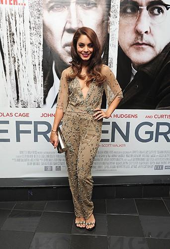 Vanessa Hudgens à Londres le 17 juillet 2013