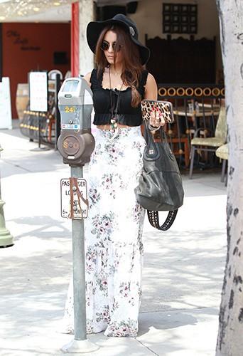 Vanessa Hudgens à Sherman Oaks le 2 août 2013