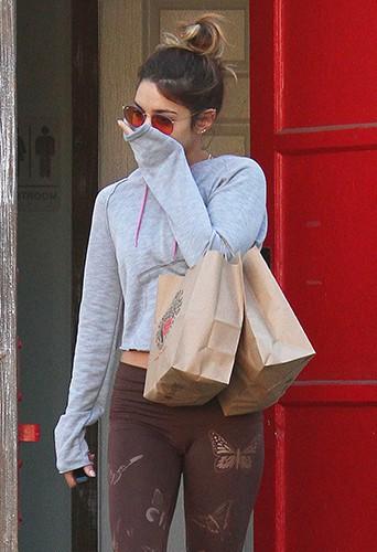 Vanessa Hudgens à Los Angeles le 25 septembre 2014