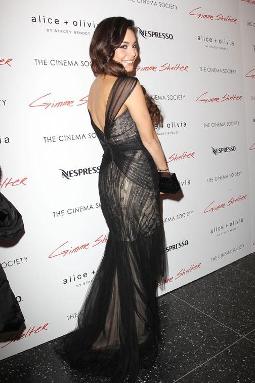 """Vanessa Hudgens à la projection de """"Gimme Shelter"""", à New-York,  le 22 janvier 2014"""