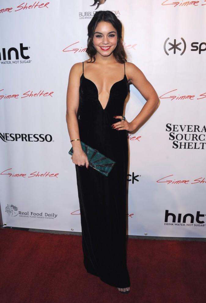 """Vanessa Hudgens lors de la projection du film """"Gimme Shelter"""" à Hollywood, le 14 janvier 2014."""