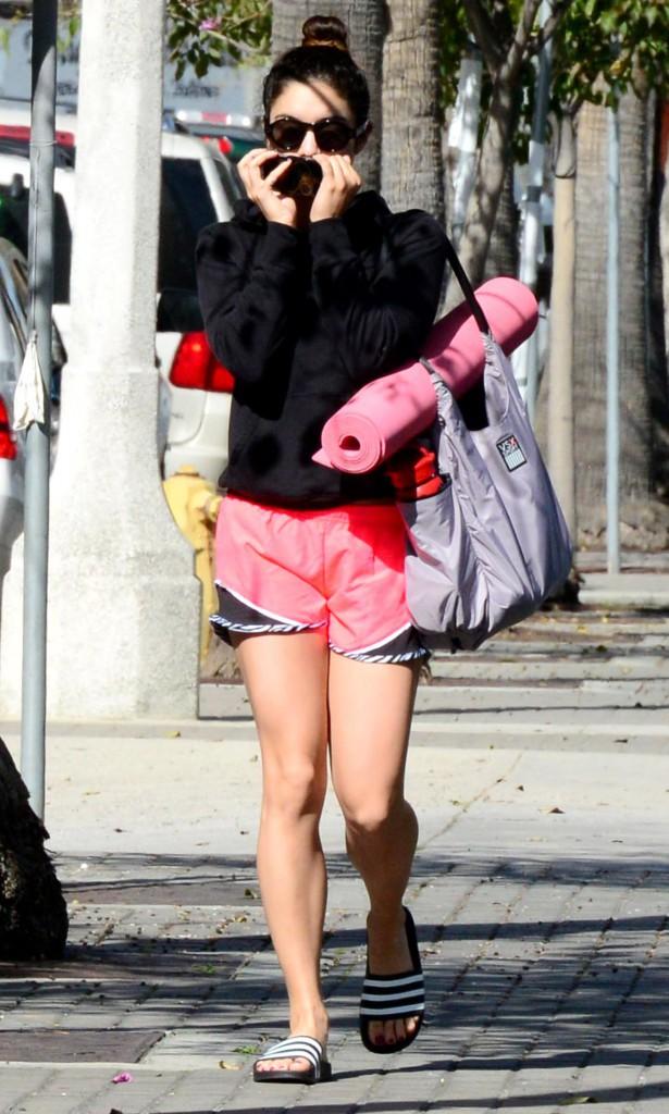 Vanessa Hudgens à Los Angeles, le 9 mars 2013.
