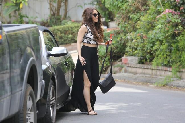 Vanessa Hudgens le 25 mars 2013 à Studio City