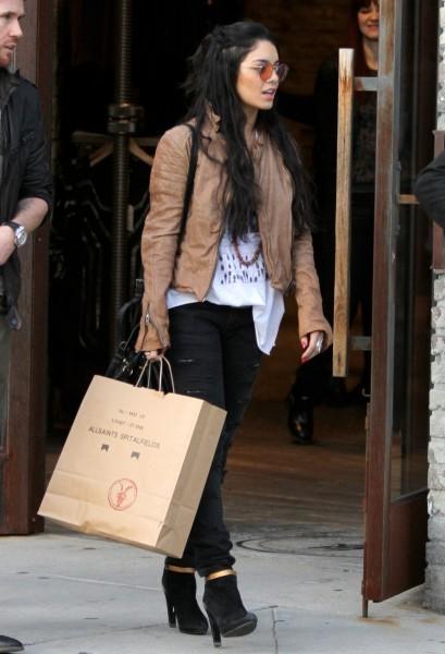 Vanessa Hudgens à Beverly Hills, le 5 janvier 2013.