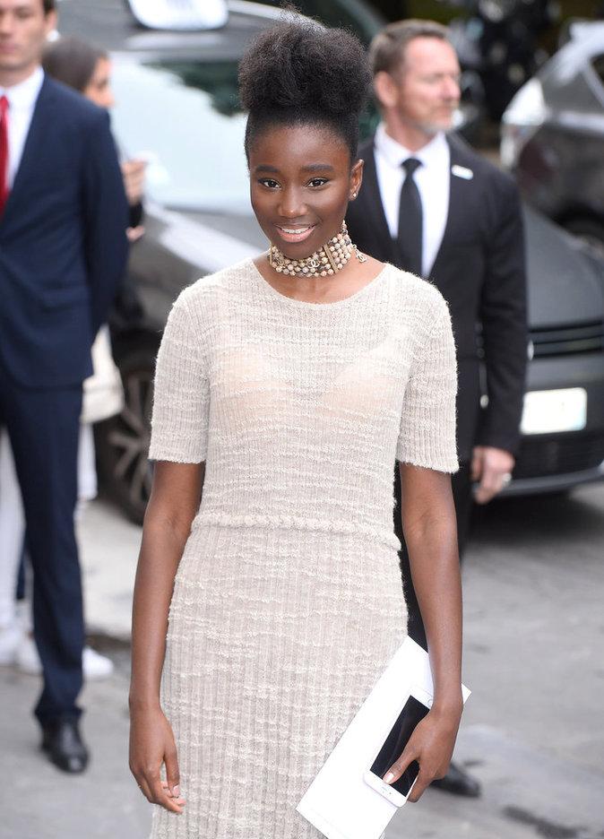 Karidja Touré à Paris le 5 juillet 2016
