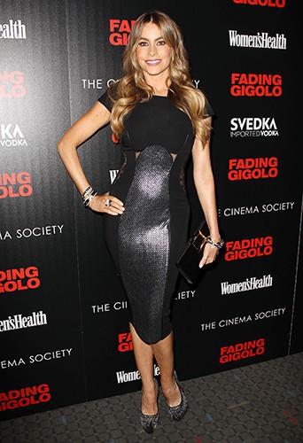 Sofia Vergara à New York le 11 avril 2014