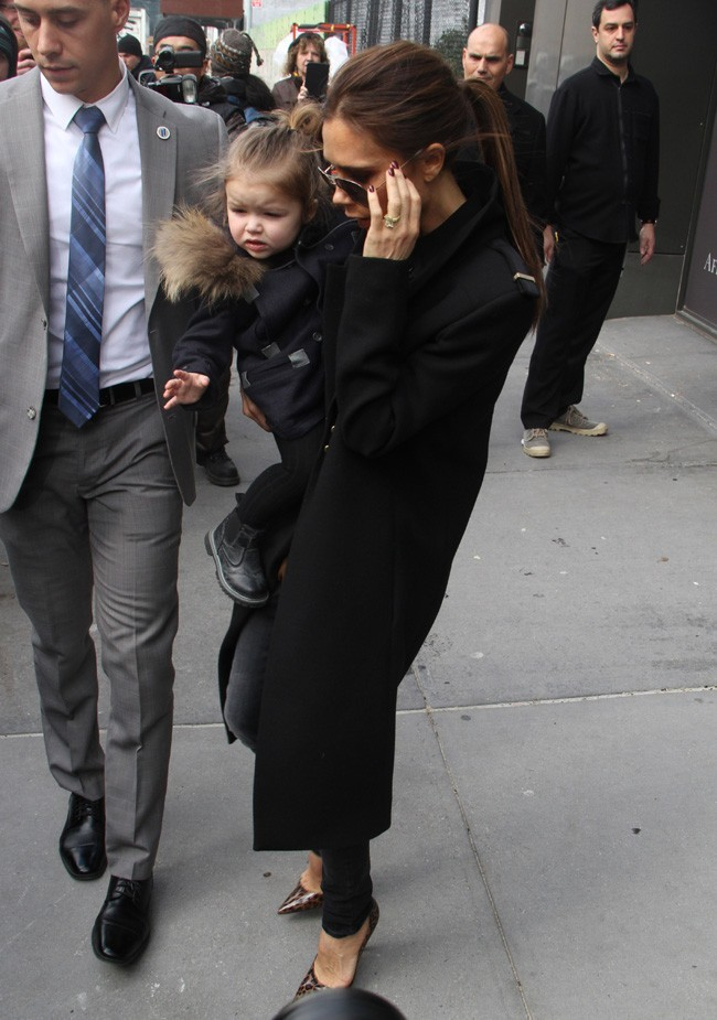 Victoria Beckham à New-York le 12 février 2013