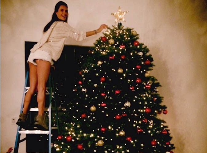 Photos victoria beckham alessandra ambrosio quelle for Les plus beaux sapins de noel decores