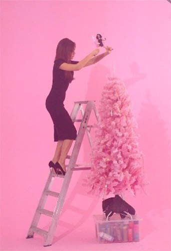 Le sapin de Noël de Victoria Beckham !
