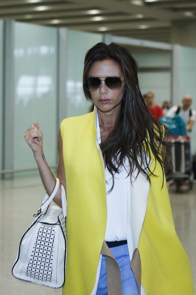 Victoria Beckham le 22 juin 2013 à Pékin