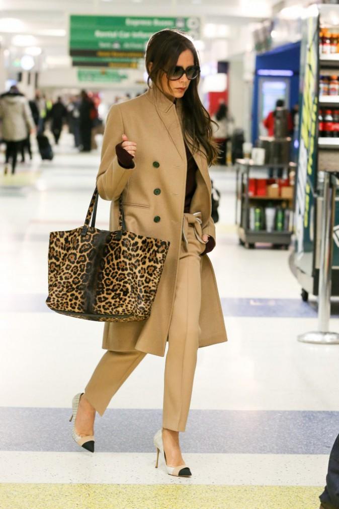 Victoria Beckham : chic et f�line, elle part � l'assaut de la Fashion Week new-yorkaise !